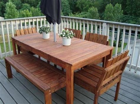 Pallet Patio Table Wood Pallet Patio Furniture Plans Recycled Things