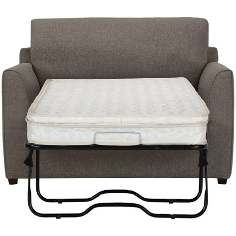 city furniture asheville brown fabric innerspring sleeper