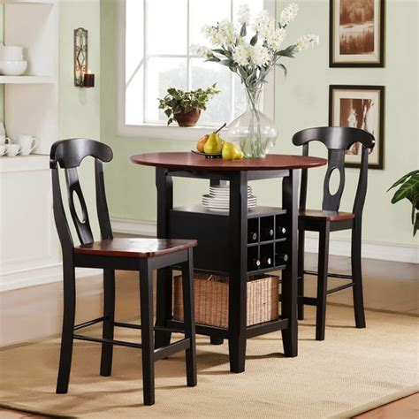 dining table and chairs for small spaces discount