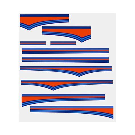 Martini Racing Aufkleber Vespa by Mod 233 Le Stickers Shop
