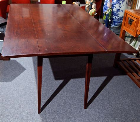 Cherry Wood Dining Table With Drop Leaf At 1stdibs Cherry Drop Leaf Dining Table