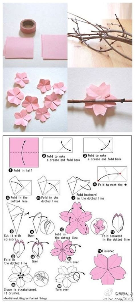 How To Make Cherry Blossoms Out Of Paper - 25 best ideas about cherry blossom wedding on