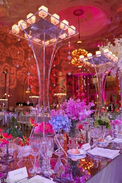 Extravagant Wedding Receptions Extravagant Table Display Extravagant Wedding Centerpieces