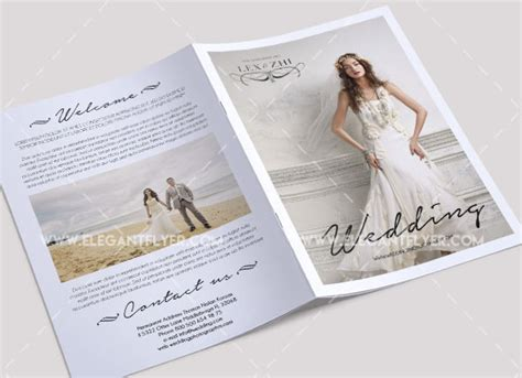 wedding brochures templates free 40 free must wedding templates for designers free