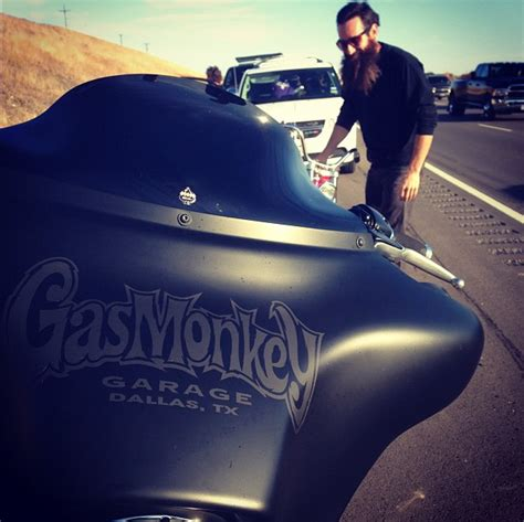 Who Left Gas Monkey Garage by We Rode Our Build Bike To Vegas Gas Monkey Garage