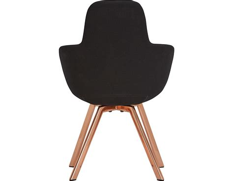 chair for back scoop high back chair with steel legs hivemodern