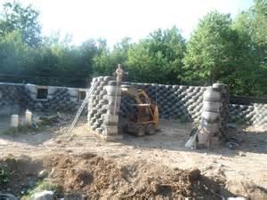 solar earthship tire house passive solar study