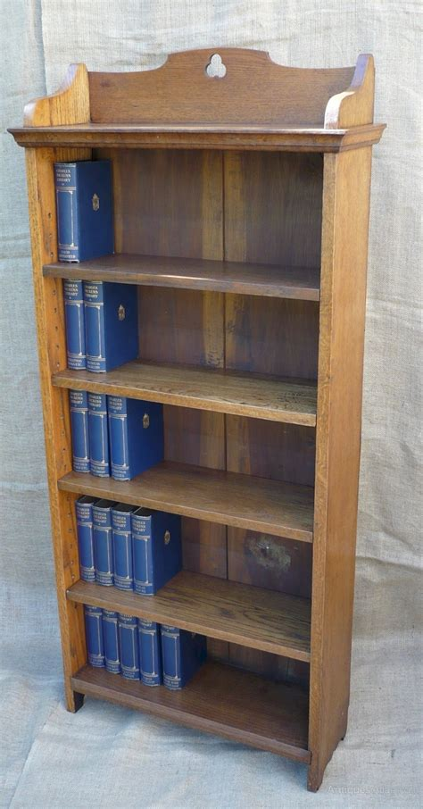 tall narrow arts and crafts bookcase antiques atlas