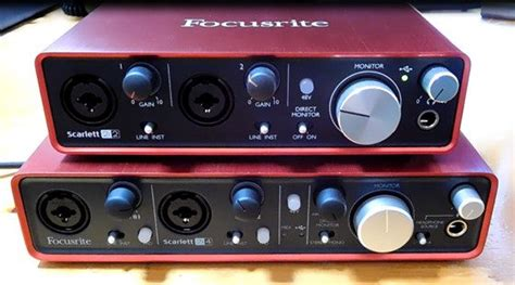 1st gen focusrite scarletts work with 2nd gen drivers for