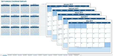 15 Free Monthly Calendar Templates Smartsheet 2019 Calendar Template Excel