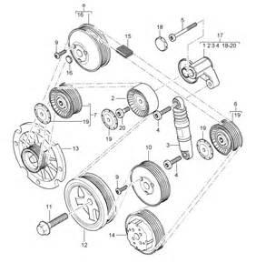 pulley bolt porsche 955 cayenne 94810220200 porsche design 911