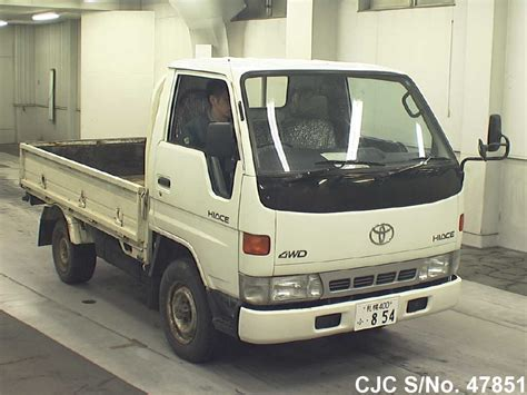 toyota hiace truck 1995 toyota hiace truck for sale stock no 47851