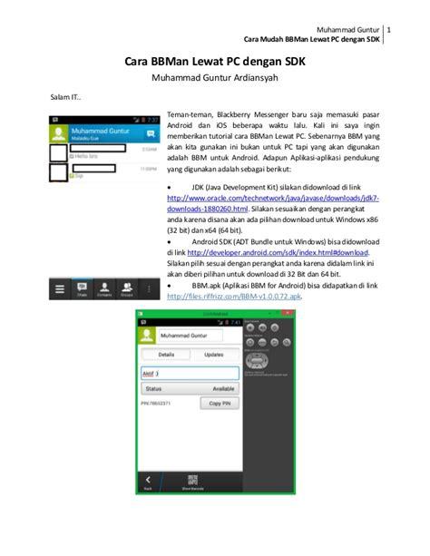 cara membuat jaringan wifi di iphone cara bbm an di pc laptop mga