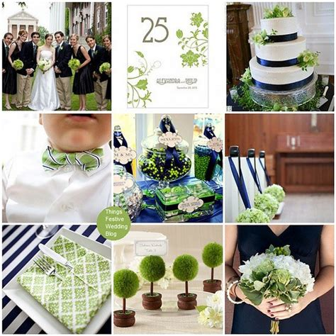 navy and green wedding theme things festive weddings events