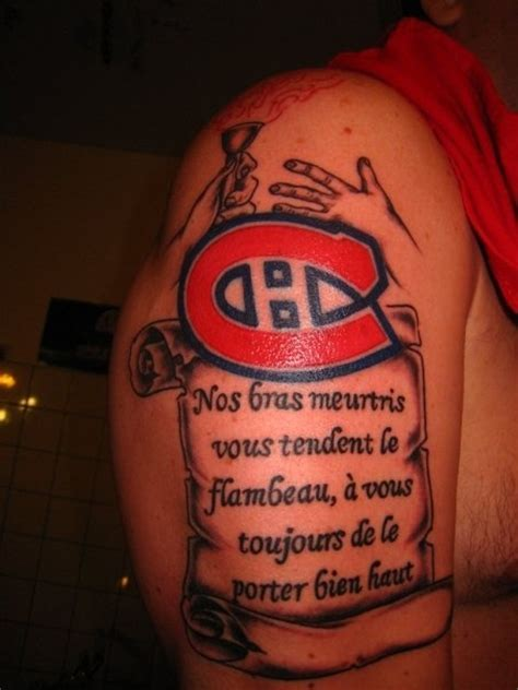 tattoo ink montreal pin by canadiens de montr 233 al on tatouages tricolore habs