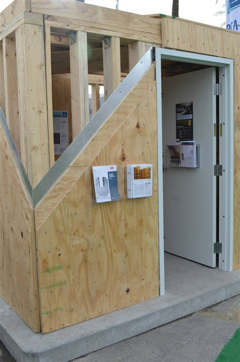 how to frame a room wood frame and steel sheathing tornado safe room