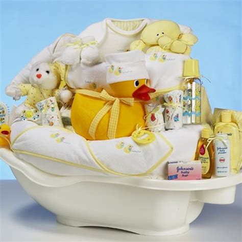 Baby Shower Gift Set by Deluxe Baby Shower Gift Set Neutral Neat Stuff Gifts