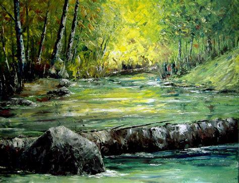 imagenes de paisajes oleo como pintar al oleo paisajes tecnicas laminas imagenes