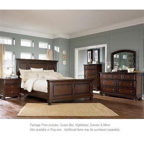 ashley furniture porter queen panel bed miskelly ashley furniture porter 4pc queen bedroom miskelly