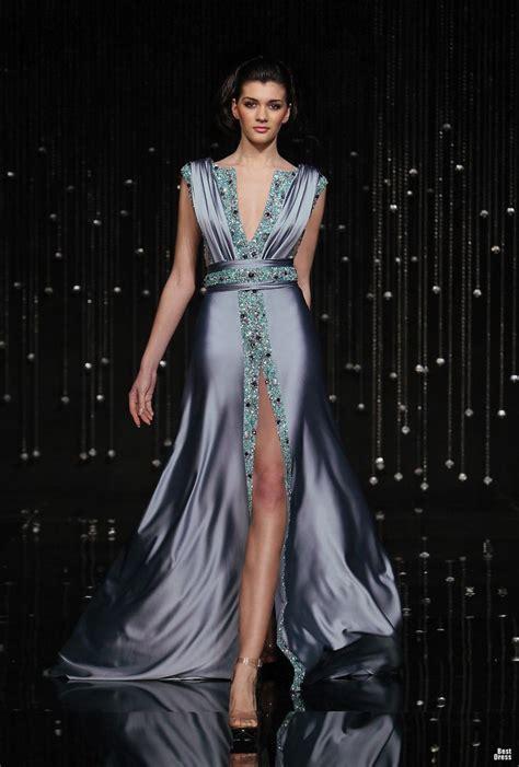 Rere Maxi Dress Gamis Muslim jean fares silver purple plunge neckline high cut