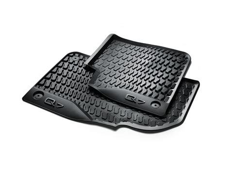 audi q7 all weather floor mats front help