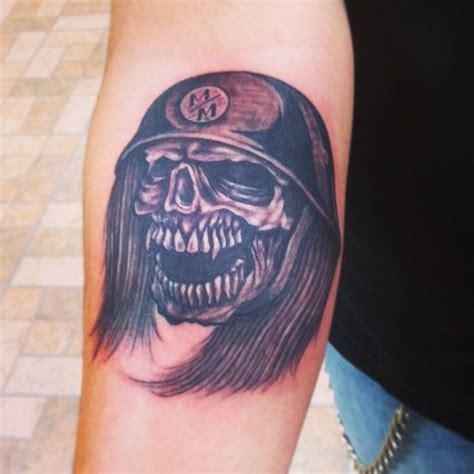 skull tattoo metal mulisha by dom tattoos pinterest