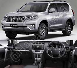 Toyota Middle East 2018 Toyota Prado Facelift Expected In The Middle East
