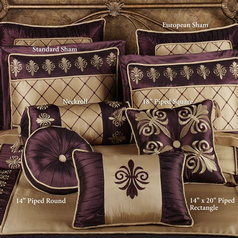 purple and gold bedding gold king comforter sets