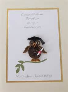 paper cards quilled graduation cards