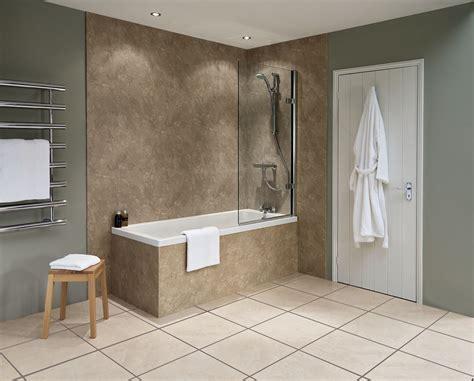 bathroom wet boards nuance travertine waterproof shower boards