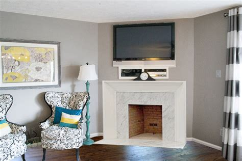 wood trim around fireplace beckie s fireplace makeover the lettered cottage