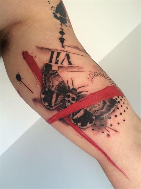 trash tattoo trash polka s hawkmoth by aura at