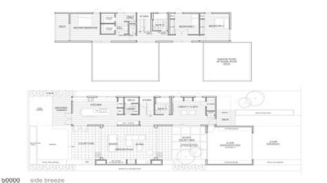 breeze house floor plan michelle kaufmann breeze house floor plan michelle