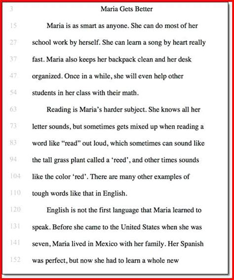 Free Printable Grade Fluency Passages