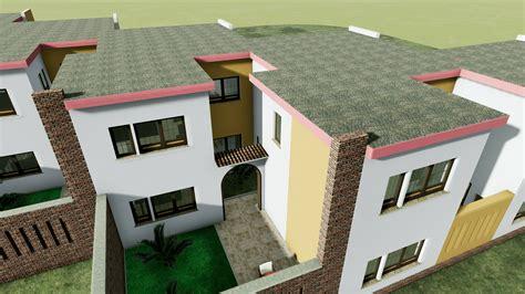 progetti di progetti di a schiera con patio o giardino esempi e