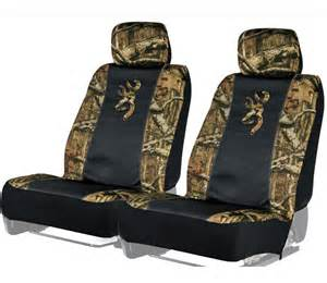 Camo Seat Cover For Car Browning Auto Kit Camo Seat Covers Steering Wheel Cover