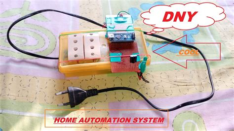 simple home automation system science project