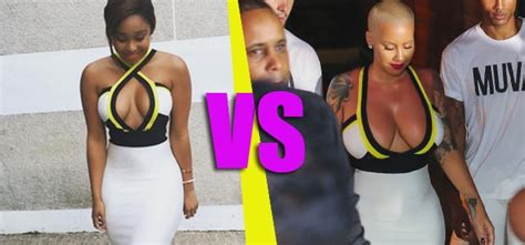 Property24 who wore it better amber rose or minnie dlamini channel24