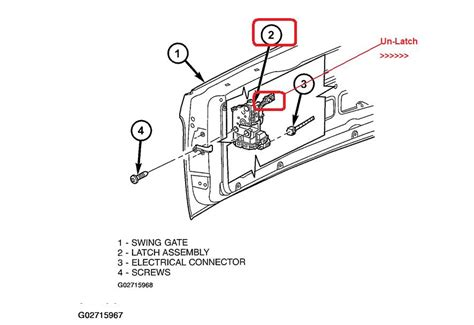 2000 Ford Explorer Door Latch Assembly by How To Open Back Latch On A 2005 Jeep Liberty Autos Post