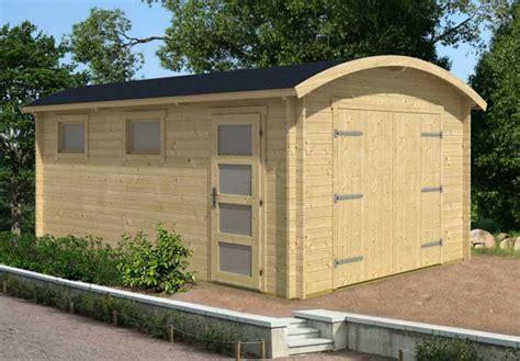 Gartenhaus Tonnendach