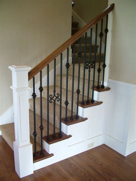 Iron Stair Banister by 17 Best Ideas About Iron Balusters On Iron