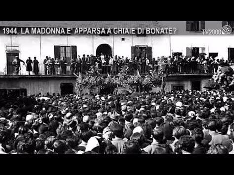 ghiaie di bonate santuario 1944 la madonna 232 apparsa a ghiaie di bonate