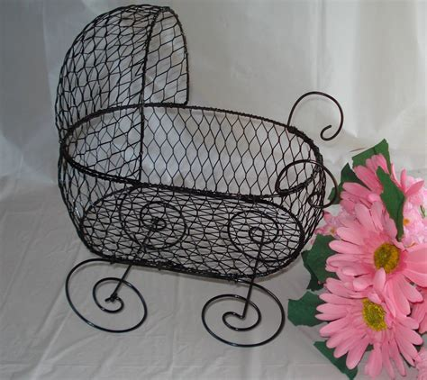 baby carriage decorations for baby shower wire baby carriage baby buggy table center