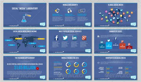 social media templates design social media apps future social media ppt