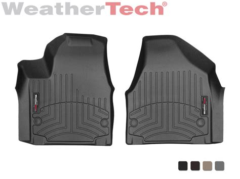 weathertech floor mats floorliner for chrysler pacifica 2017 1st row ebay