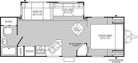 fleetwood terry travel trailer floor plans 2004 fleetwood terry travel trailer rvweb com