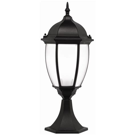 Outdoor Lighting Bunnings Brilliant 60w Cambridge Black Pillar Top Coach Light Bunnings Warehouse