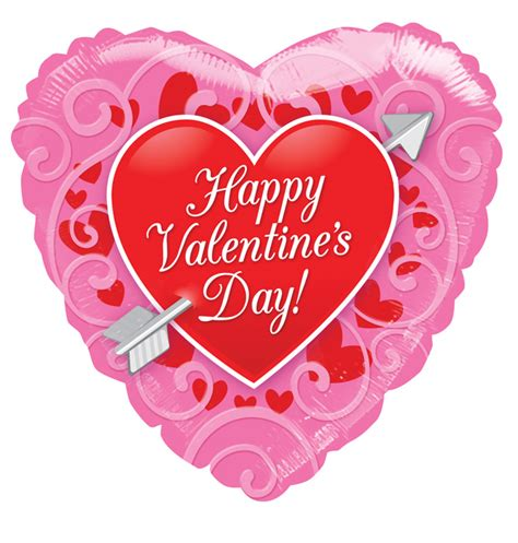 valentines day balloons 81175 18 quot quot happy s day quot with arrow balloon