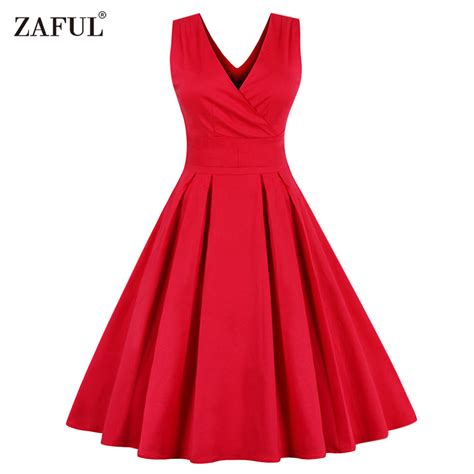 sixties swing dresses aliexpress com buy zaful women sleeveless vintage summer