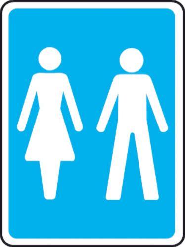 Toilet Sign unisex toilet sign